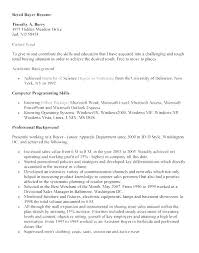 Resume Objective For Retail Outstanding Resume Objectives Banking