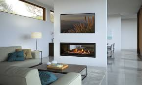 regency gf1500lst see through gas fire with clean edge finish