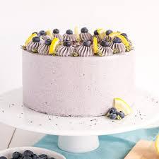 Lemon Blueberry Cake Liv For Cake