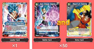 leader card battle card extra card