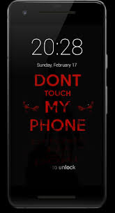 Don't Touch My Phone HD Lock Screen for ...