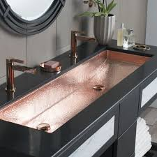 trough bathroom sink sinks vanity