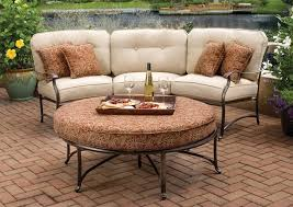patio couch set. Agio Patio Furniture Curved With Sectional Couch Set R