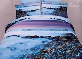 new arrival pebbles in the mist print 3d bedding sets beddinginn com