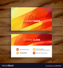 Abstract Design Company Abstract Business Card Abstract Design