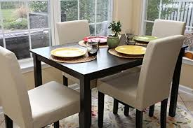 4 person table and chairs ivory dining dinette ivory parson chair return to previous page lightbox lightbox lightbox lightbox prev next