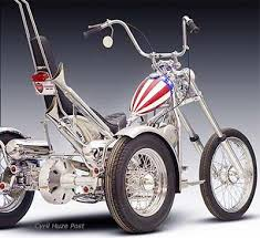 building a captain america trike at cyril huze post custom