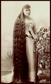 pioneer woman 1800s hair. victorian woman with really long hair pioneer 1800s i