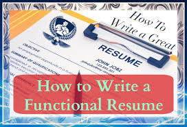 How To Write A Resume Writing A Functional Resume Youtube