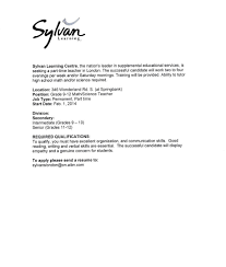 Sample Cover Letter For Teacher Assistant Examples Of Letters