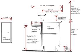 kitchen designs kitchen sink height for designs standard bench and heights kitchen sink height