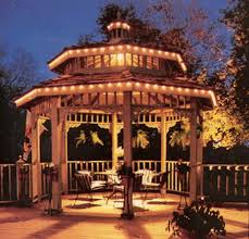 system gazebo lighting ideas