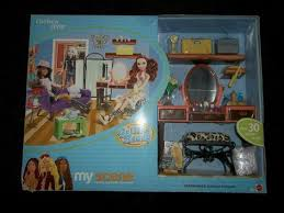 More on genius ending scene track info. Contemporary Barbie Dolls 1973 Now 2003 Barbie Doll My Scene Cafe Playset Coffee Shop Green Floor Lamp Furniture Doll Furniture