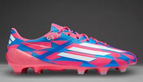 adidas f50 adizero fg neon pink running white solar blue