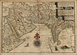 antique indian maps from 1500\u2032s antique indian maps India Map Before 1600 linschoten_full_map india map before 1600