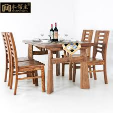 wood chairs for dining table solid wood elm dining table in restaurant for dinner tables long