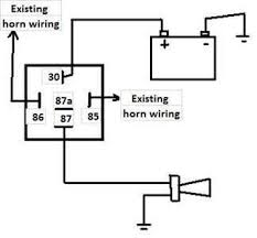 air horn relay wiring diagram wiring diagram horn wiring diagram for a dixie diagrams