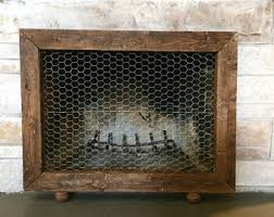 Unique fireplace screens Guard Custom Fireplace Screenframe Etsy Fireplace Screen Etsy