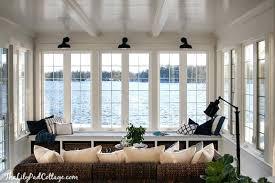 sunroom lighting ideas. Sunroom Lighting Lake House Blue And White Tips . Ideas