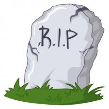 cartoon <b>grave</b> with <b>tombstone</b> premium vector download for ...