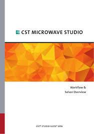 Cst Microwave Studio Tutorial Antenna Design Pdf Cst Microwave Studio Manualzz Com