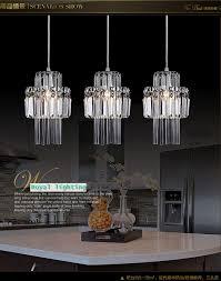 Kitchen Pendant Lights For Sale Modern Crystal Pendant Lamp Lighting For Dining Room 1 3 Pcs
