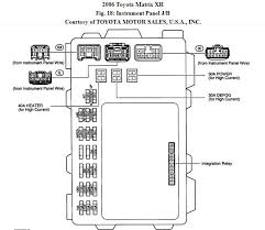 2006 toyota matrix radio fuse location and how to access it 2006 toyota matrix fuse diagram at 2004 Matrix Fuse Box