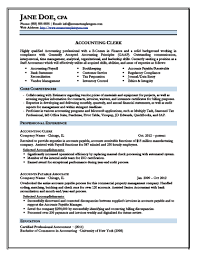Junior Accountant Resume – Free Resume Templates 2018