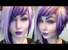 جديد قصات شعر قصير غريبة والألوان جريئة