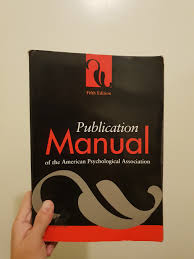 Apa Publication Manual On Carousell