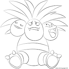 Small Picture 103 exeggutor pokemon Coloring pages Printable
