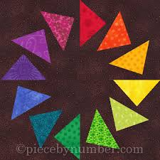 Circle of Geese – free quilt block pattern for paper piecing ... & Circle of Geese – free quilt block pattern for paper piecing Adamdwight.com