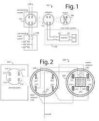 patent us7648389 supply side backfeed meter socket adapter patent drawing