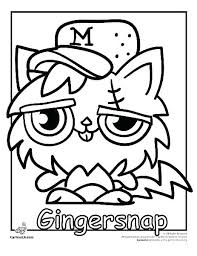 Moshi Monster Coloring Pages Monsters Monster Coloring Pages