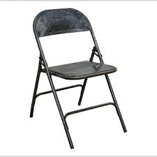 metal folding chairs outstanding folding chair in metal industrial furniture within black metal folding chairs por