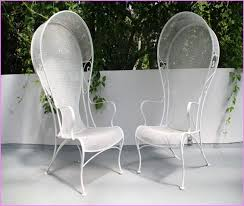 white cast iron patio furniture. Contemporary Cast Beautiful White Wrought Iron Patio Furniture Outdoor Design Concept  Home On Cast F
