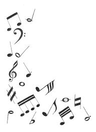 Music Note Card Kpwms Art