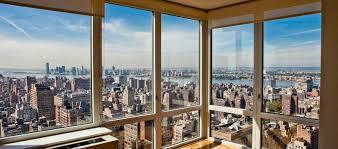 Apartment Window-City scene - AWM12 - Apartment window wall view of  stunning New York city at night. Self adhesive photo wallpaper | Pinterest  | City scene, ...