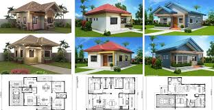 3 affordable small contemporary house plans