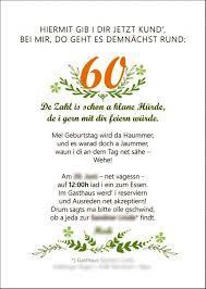 Spruch 60 Geburtstag Einladung Witzige Zum Sprüche Pinterest