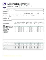 Employee Evaluation Checklist Template Employee Evaluation Checklist Template