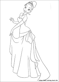 567x794 coloring pages princess tiana the princess and the frog coloring