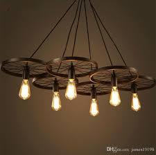 diy ceiling lighting. New Modern DIY Loft Retro Iron Bicycle Wheels Pendant Lights Ceiling Lamp Fixture E27 For Coffee Diy Lighting E