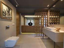 image of wall mounted track lighting bathroom