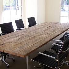 Wood office tables Diy Reclaimed Wood Conference Table With Chairs Lilangels Furniture Commercial Reclaimed Wood Tables Blacks Farmwood