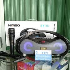 Loa karaoke bluetooth Kimiso S1/ S2, Giá tháng 11/2020