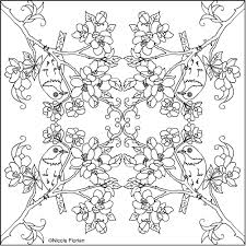 Small Picture Nicoles Free Coloring Pages APPLE BLOSSOM MANDALA COLORING PAGES