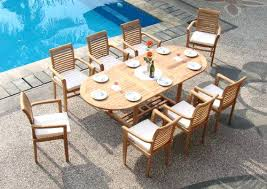 outdoor dining sets houston. teak outdoor furniture houston au 9 piece grade a dining set sets