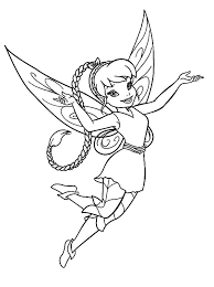 fawn coloring pages disney fairy fawn in pixie coloring page netart