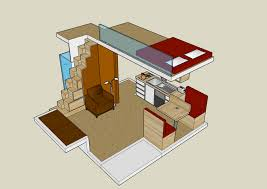 tiny house plans   loft modern and prioritizes comfort marked    tiny house plans   loft modern and prioritizes comfort marked   a kitchen adjacent to the